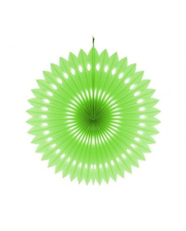 Pap. rozeta - zelená 40cm 1ks