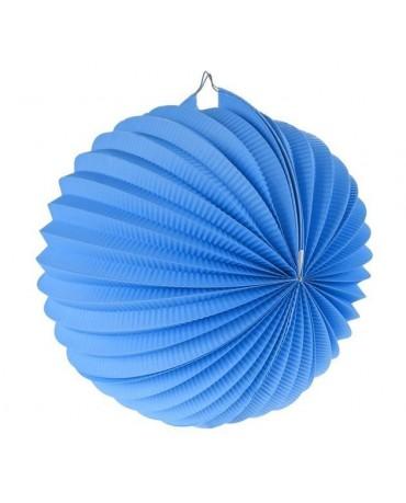 Papi. dekor. guľa modrá 25cm 1ks
