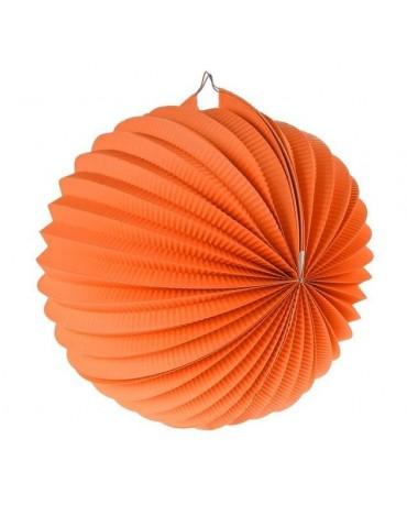 Papi. dekor. guľa oranžová 25cm 1ks