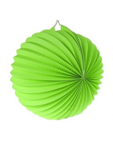 Papi. dekor. guľa zelená 25cm 1ks