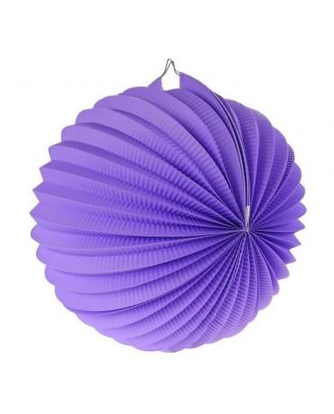 Papi. dekor. guľa fialová 25cm 1ks