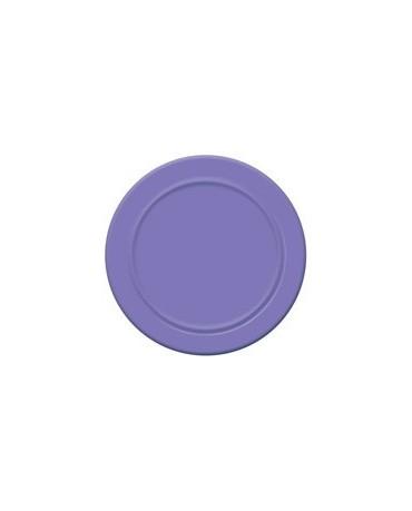 Tanieriky - fialové 18 cm - 6 ks