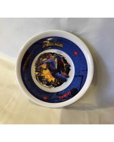 Plast. miska Spiderman 16 cm