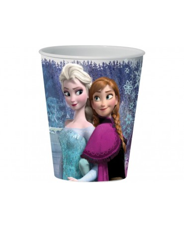 Plastový pohár 3D  Frozen 350 ml