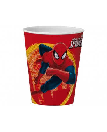 Plast. pohár 3D  Spiderman  350 ml