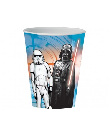 Plast. pohár 3D Star Wars VII. 350 ml