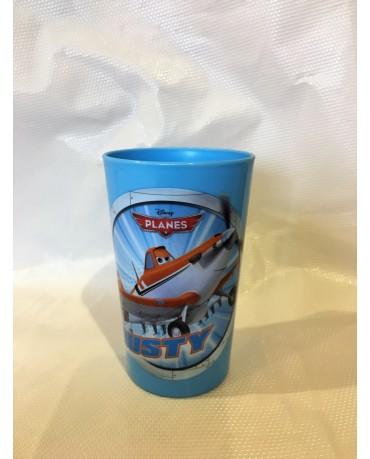 Plast. pohár Lietadlá 225 ml
