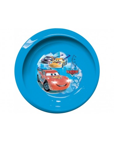 Plastový tanier  Autá na ľade 20cm