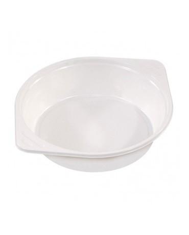 Plastové misky-biele 10ks