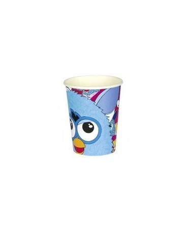 Poháre Furby - 250 ml - 8 ks