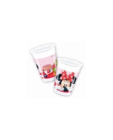 Poháre Minnie Mouse- Jam 200ml - 8 ks
