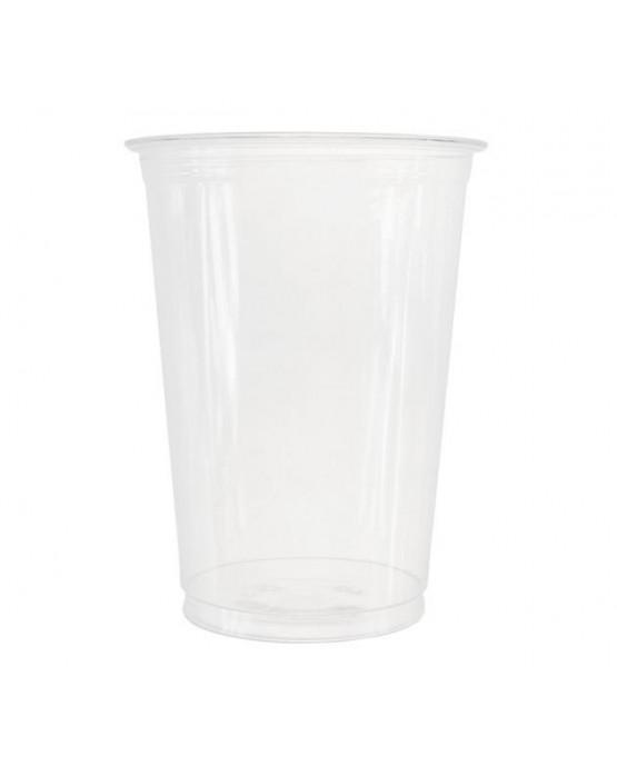Priehľ. plast. poháre 400/550ml 50ks