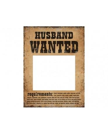 Rekvizity na fotenie - Hľadá sa manžel a manželka 2ks