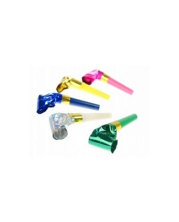 Rolov. píšťalky mix farieb-10ks