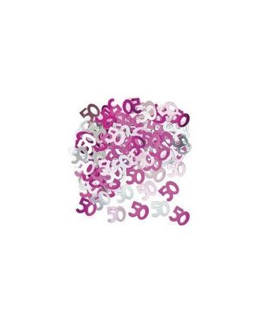 Konfety č. 50 -ružové 14 g