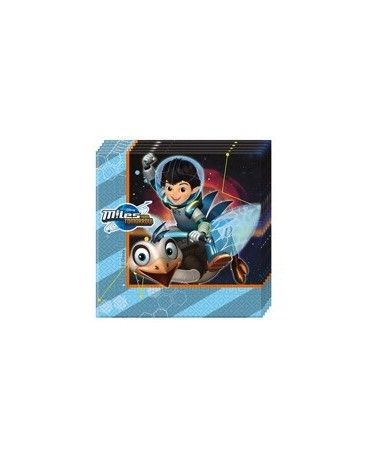 Servítky Miles from Tomorrowland 33cm 20ks