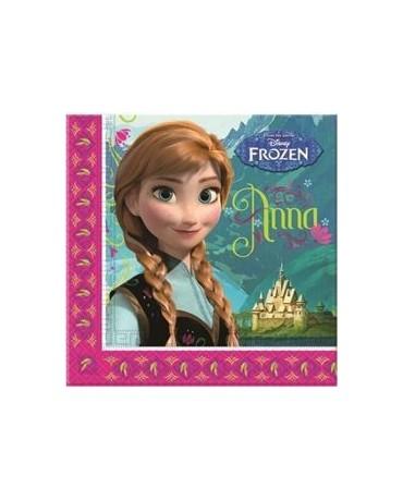 Servítky  Frozen - Anna 33cm 20ks
