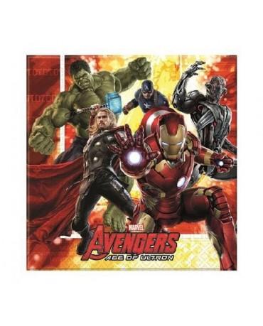 Servítky Avengers 2 33 cm - 20 ks