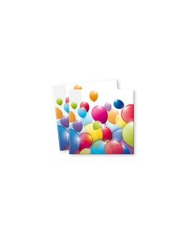 Servítky Balóniky 33cm 20ks