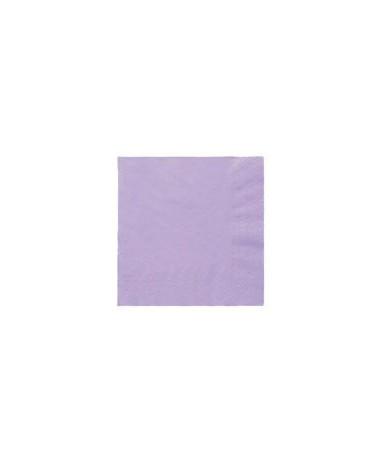 Servítky fialové - 3 vrstvové 33cm 20ks