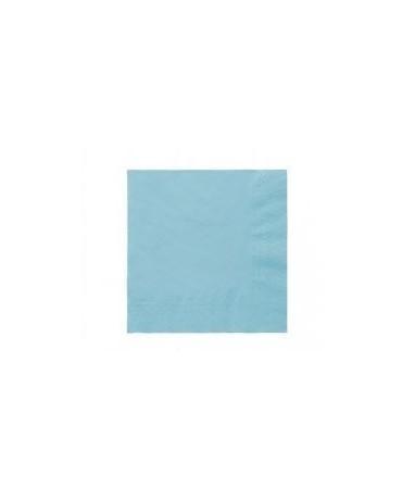 Servítky modré- 3 vrstvové 33cm 20ks