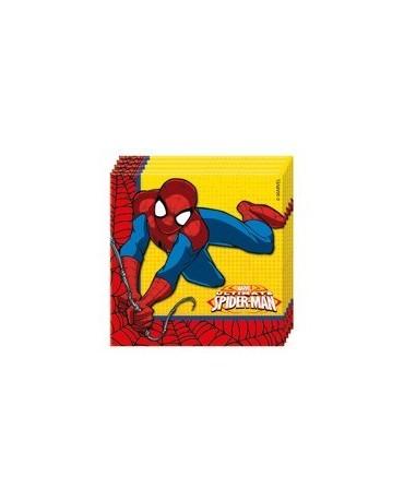 Servítky Ult. Spiderman Power 33cm 20ks