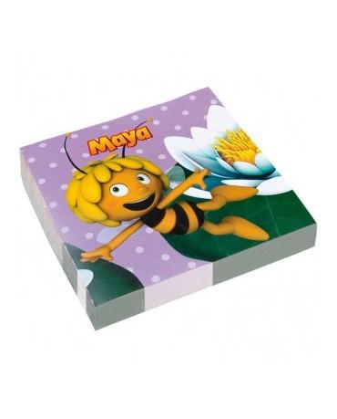 Servítky Včielka Maja 33cm 20ks