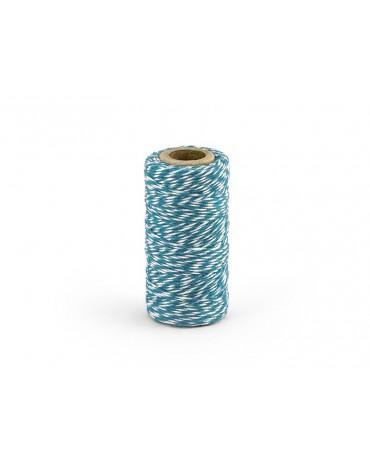 Šnúra - bielo-modrá 50m 1ks
