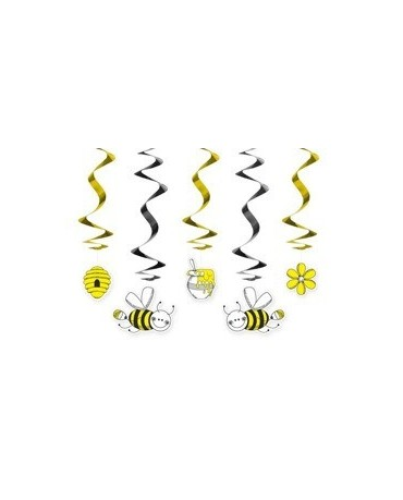 Špirály včielky 60 cm - 5 ks