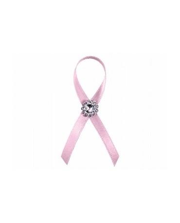 Stužky pre svad. hostí - ružové s dekoráciou 25ks