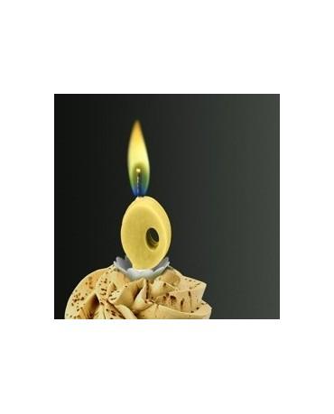 Sviečka - č.0 -žltý plameň