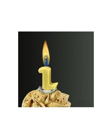Sviečka - č.2 -žltý plameň