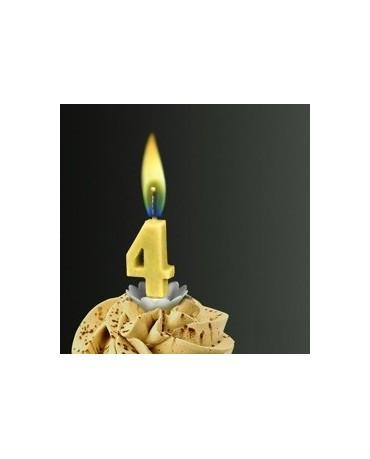 Sviečka - č.4 -žltý plameň