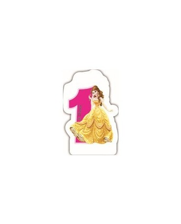 "Sviečka Princess- č. ""1"""