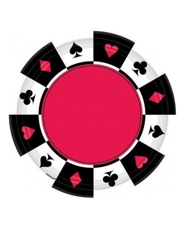 Tanieriky kart. znaky -17,7 cm