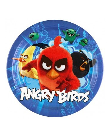 "Tanieriky Angry Birds Movie - 9"" - 8 ks"