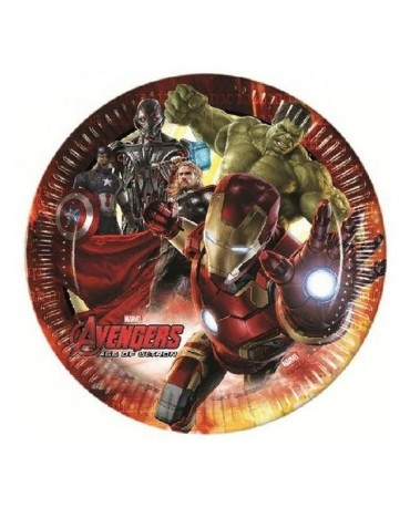 Tanieriky Avengers 2 23 cm - 8 ks