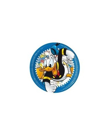 Tanieriky Káčer Donald 23 cm - 8 ks