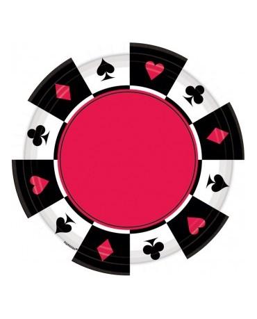 Tanieriky kart.znaky -26,7 cm