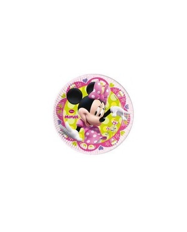 Tanieriky Minnie -Tique 23 cm - 8 ks