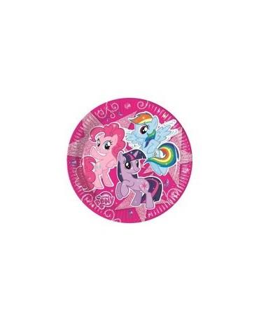Tanieriky My Little Pony 23 cm - 8 ks
