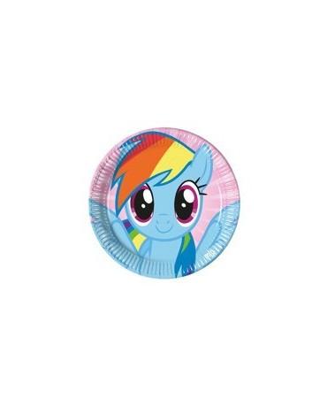 Tanieriky My Little Pony Rainbow - 23 cm - 8ks