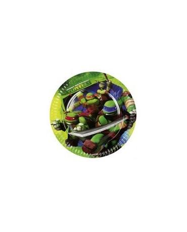 Tanieriky Ninja korytnačky 23 cm - 8 ks