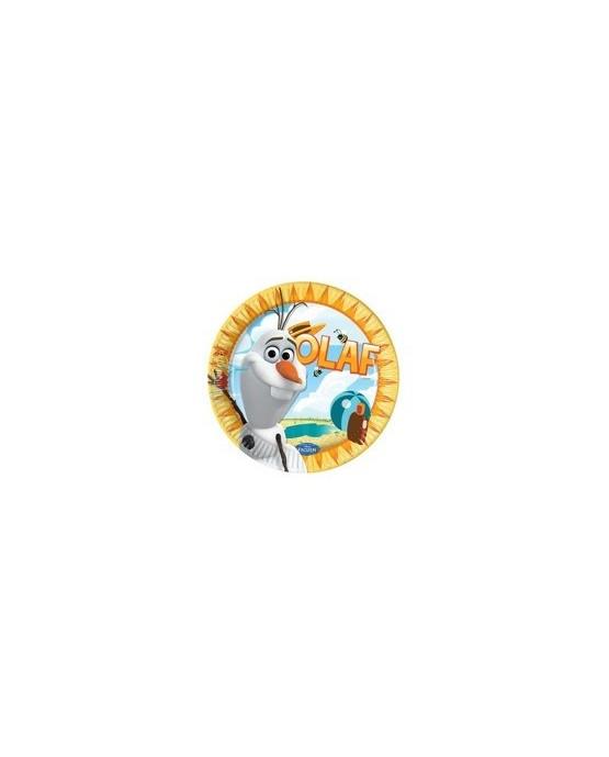 Tanieriky Olaf- Summer 23 cm - 8 ks