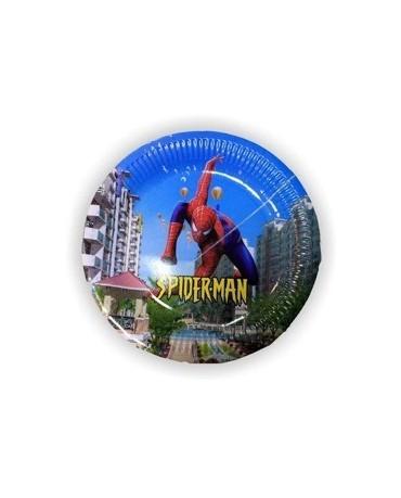 Tanieriky Spiderman 23 cm - 6 ks