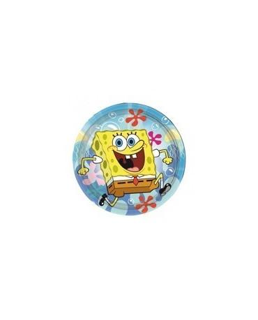 Tanieriky Spongebob - 18 cm - 8 ks