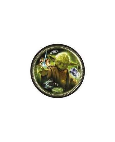 Tanieriky Star Wars -20 cm 8 ks