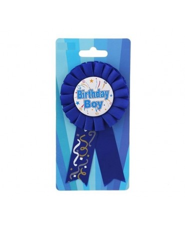 Brošňa Birthday boy- modrá