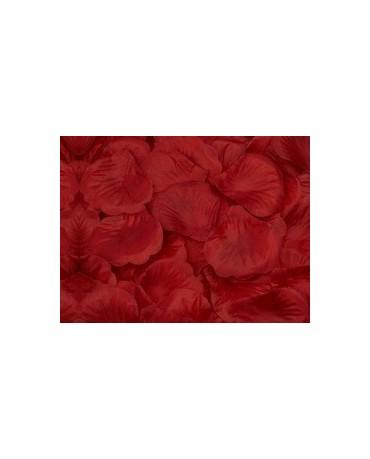 Dek. lupene ruží - bordové 100ks