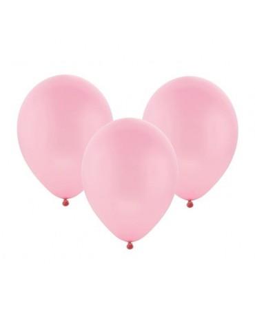 "Latex. bal. pastel. ružové 12"" 10ks"
